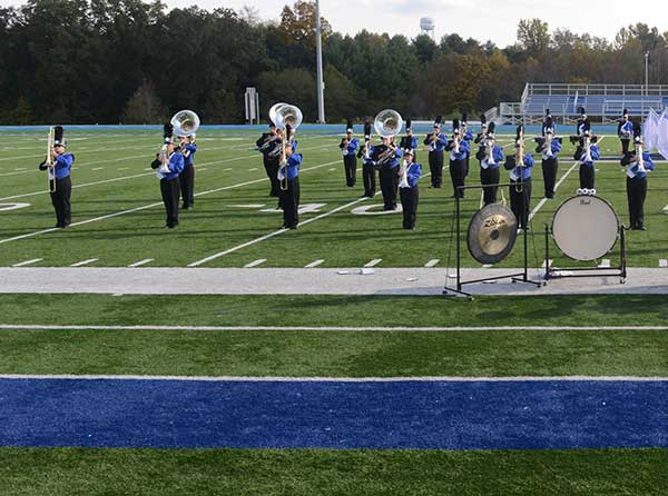 Band at Homcoming