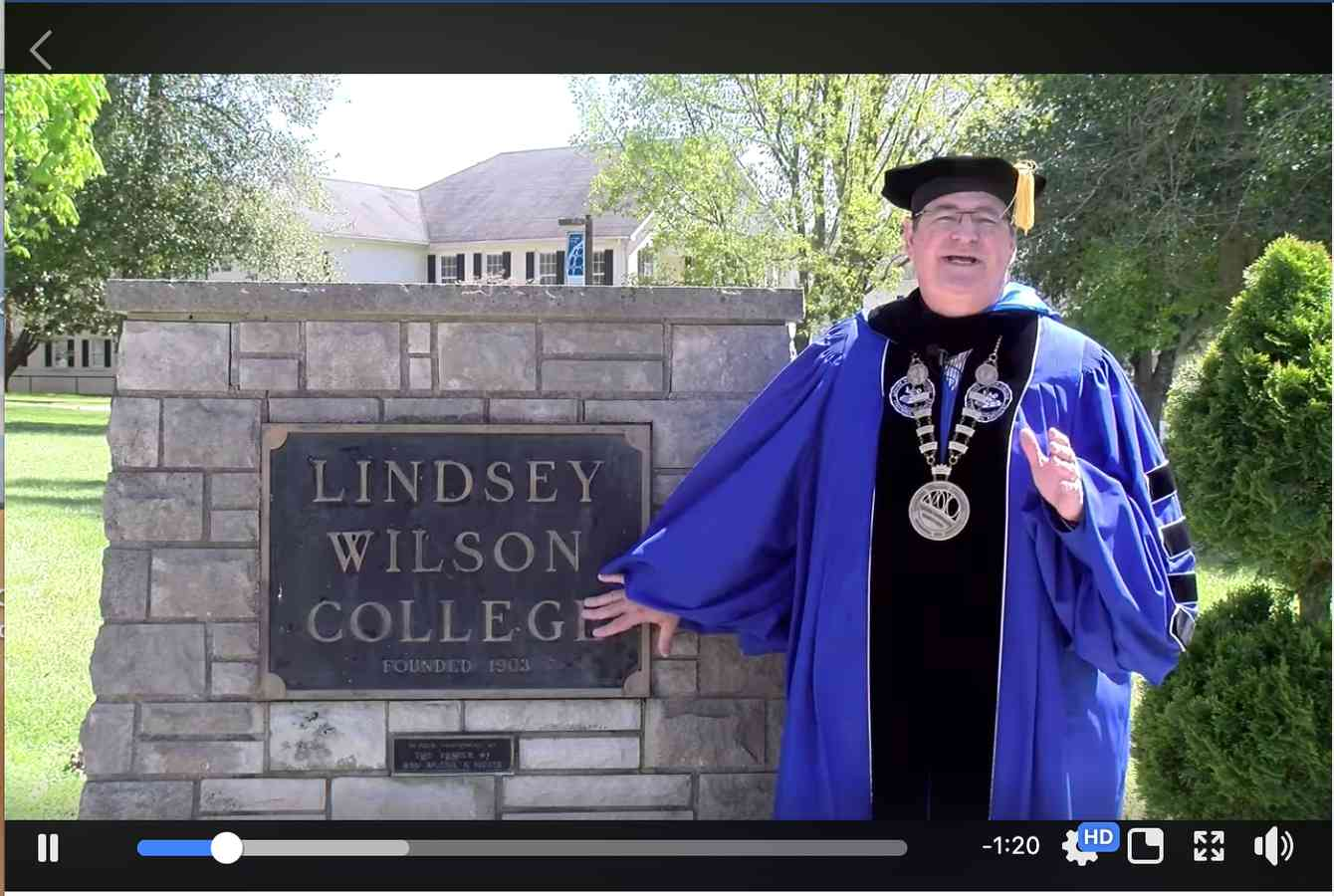 Lindsey Wilson College Recognizes the Class of 2020