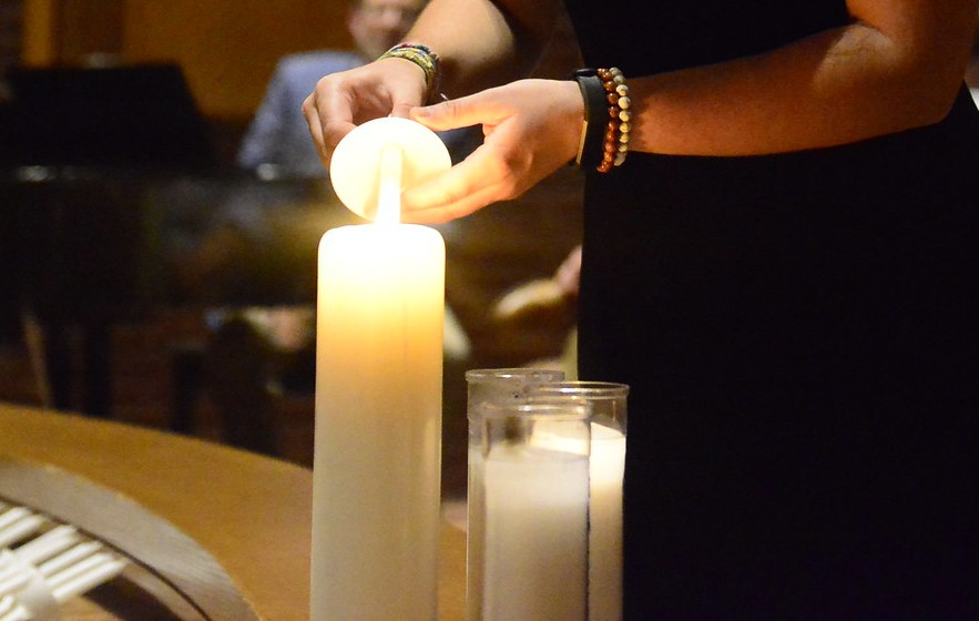 Candlelight Service to Remember Fallen Classmate, Teammate
