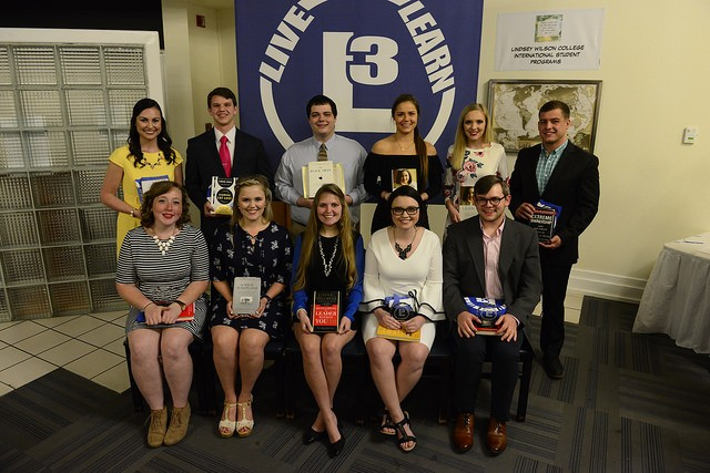 Eleven Lindsey Wilson College Students Awarded Leadership Awards, Dr. Anne Streeter Named Remarkable Raider