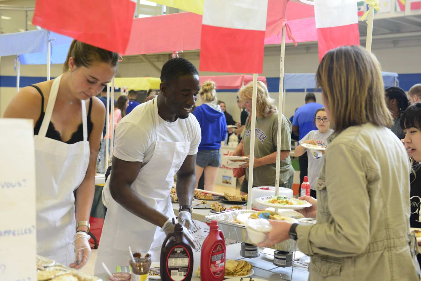 450 Attend International Marketplace at LWC