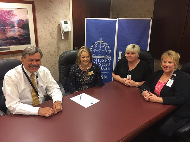 LWC Nursing & Russell County Hospital Sign Partnership Agreement