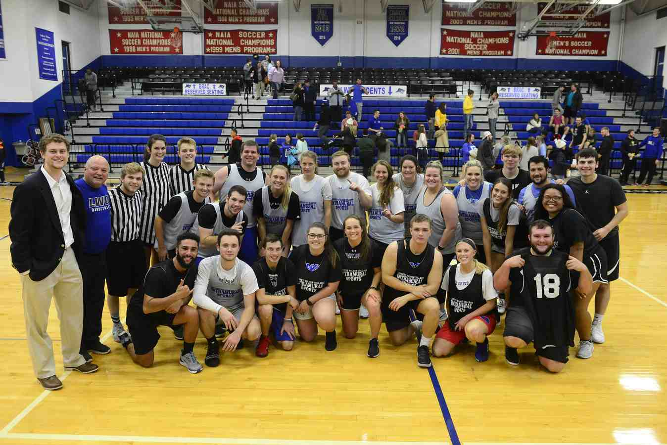 Third-Annual Student-Faculty Game Brings LWC Community Together