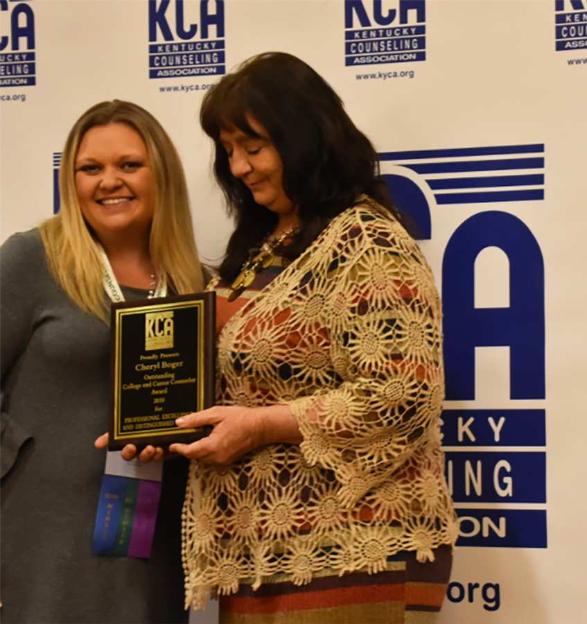 LWC Employee Named KCA Outstanding College & Career Counselor of the Year