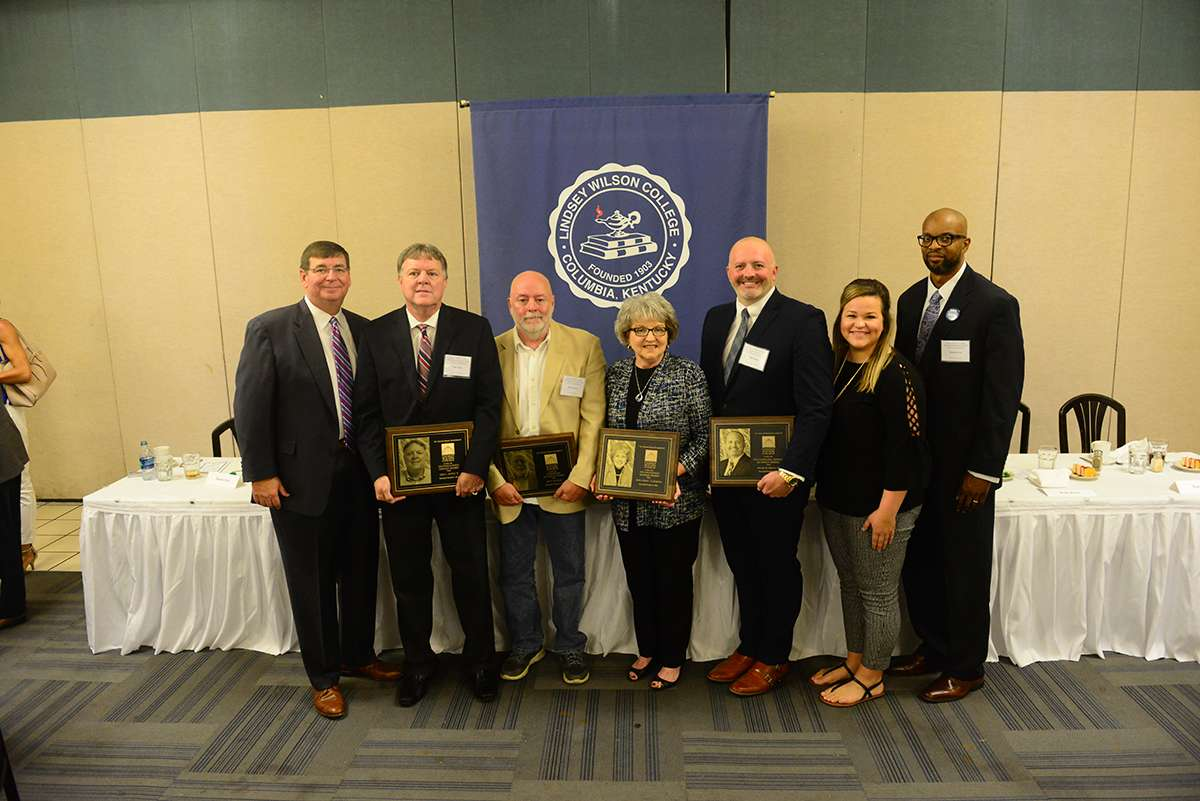"Seven Recognized for a ""Lifetime Commitment"" at LWC's 87th Homecoming Celebration"