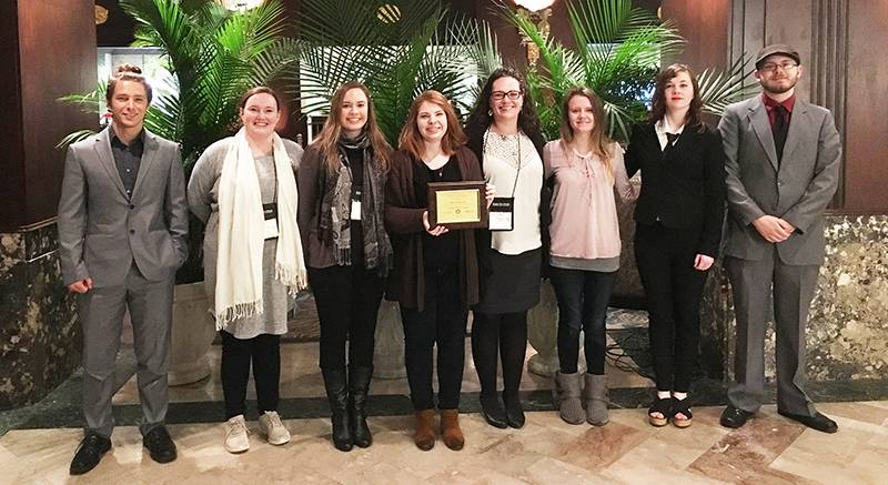 LWC Students Recognized for Outstanding Achievement at Academic Conferences and Competitions