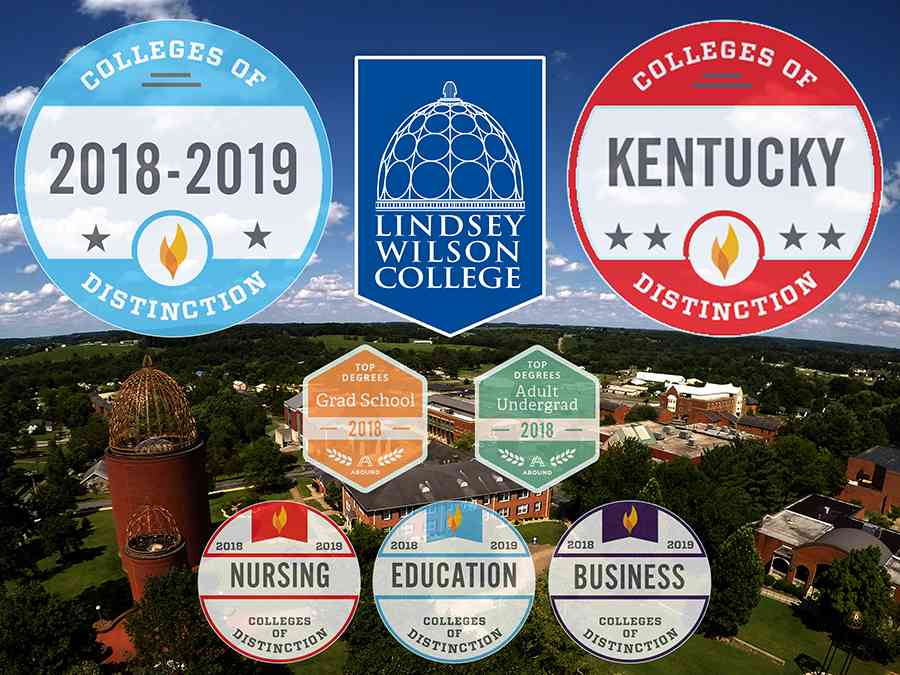 Lindsey Wilson College Has Been Named A National College of Distinction