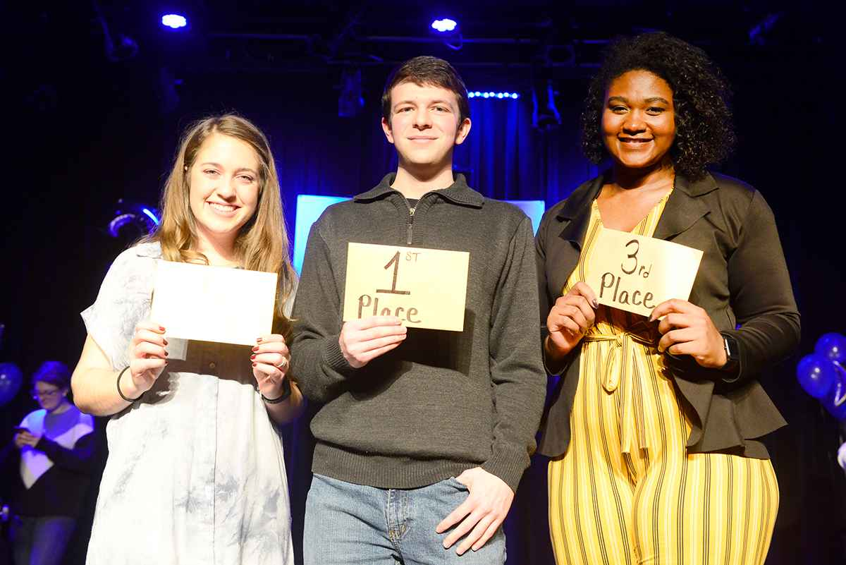 LWC Freshman Nicholas Miniard Wins 20th-annual Lindsey Idol