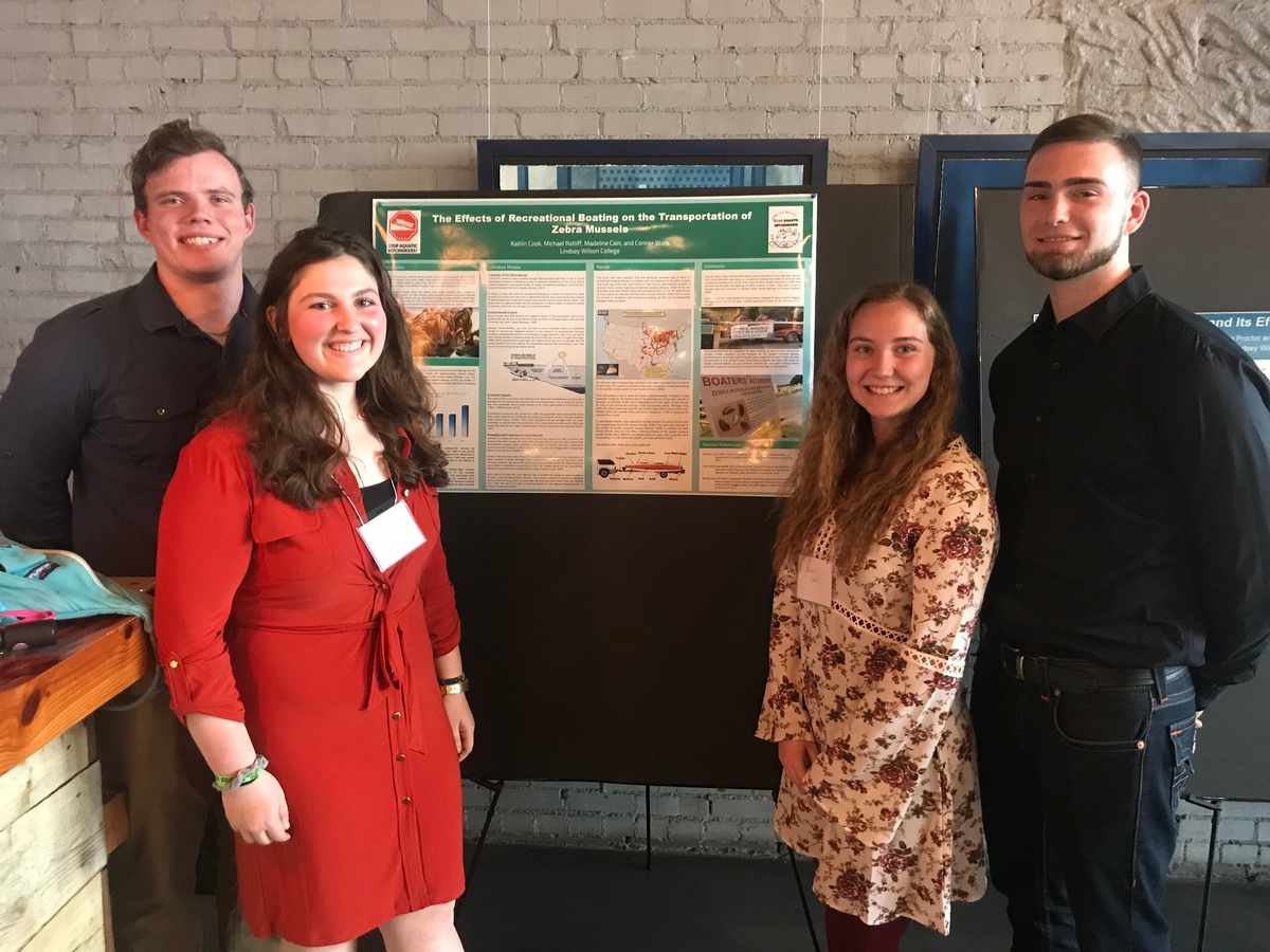 LWC Students Win Awards at Southeastern Recreation Research Conference