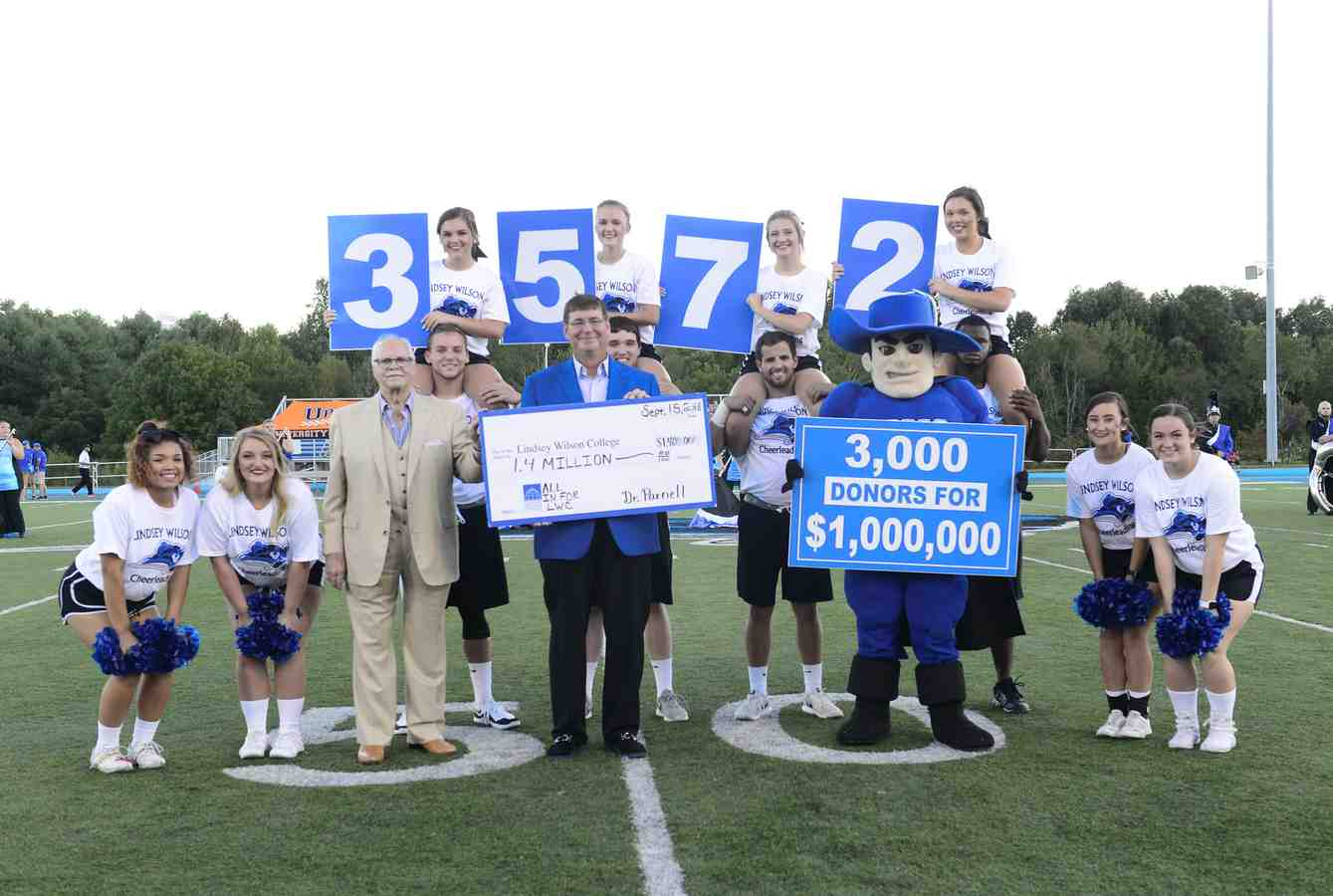 Adair County Native Allan Parnell Sets $1,000,000 Challenge to Benefit LWC Students